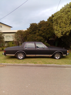 1980 CHEVY CAPRICE CLASSIC V8 Lakes Entrance East Gippsland Preview