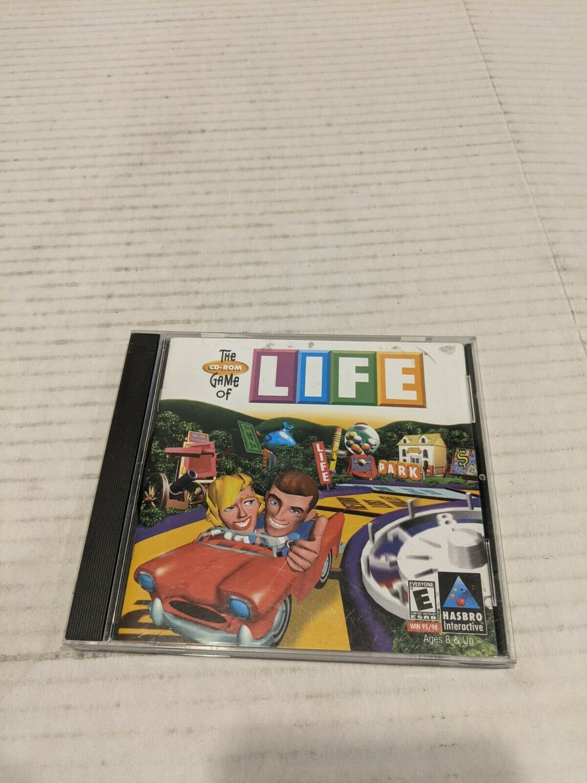 Computer Games - The Game Of Life (1998, PC Computer CD-Rom) Hasbro Interactive Video Game