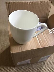 NEW Alex Liddy Set of 8 Fine China Coffee or Tea Mugs Springwood Blue Mountains Preview
