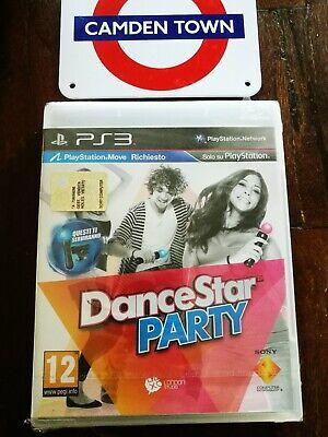 Dancestar Party Ps3 Edizione Italiana Sigillata