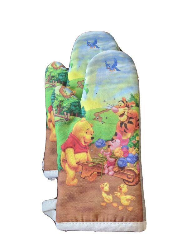 Winnie The Pooh Oven Mitt Disney Brand Lot of 2 Colorful