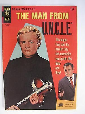 Man From U N C L E   11  Mar 1967  Gold Key   Western   Fn 6 0  Man From Uncle