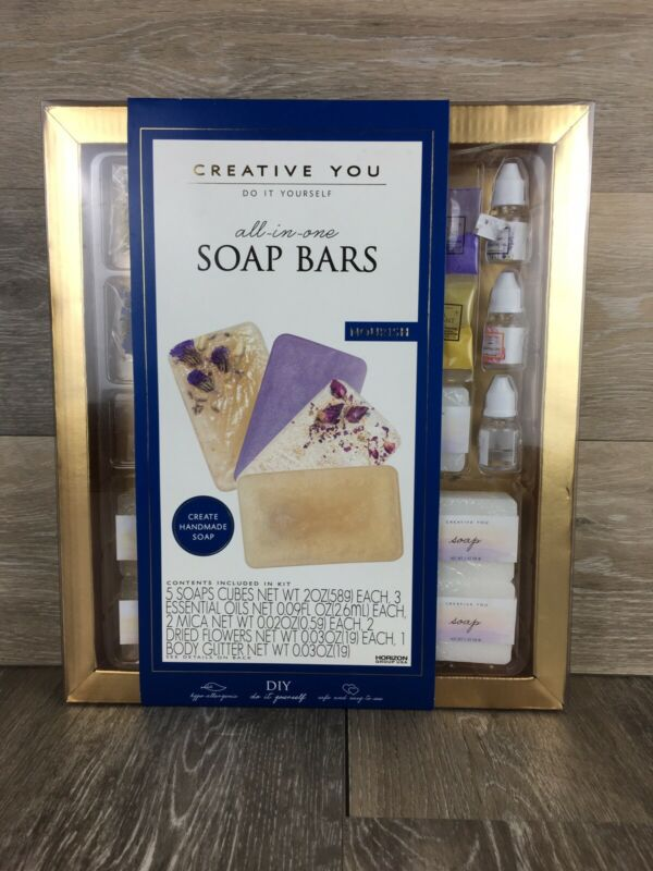 Creative You Do It Yourself All In One Soap Bars Nourish