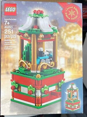 Lego Christmas Carousel 40293 NEW FACTORY SEALED NRFB NIB RARE