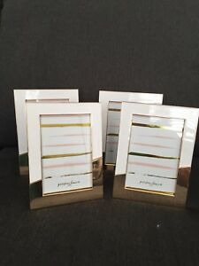 Gold and White Picture Frames