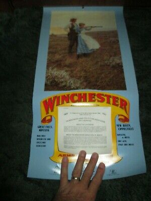 Winchester Arms Collectors Association 1991 Calendar