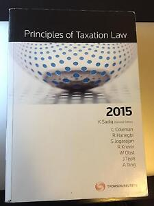 Principles of taxation law Docklands Melbourne City Preview