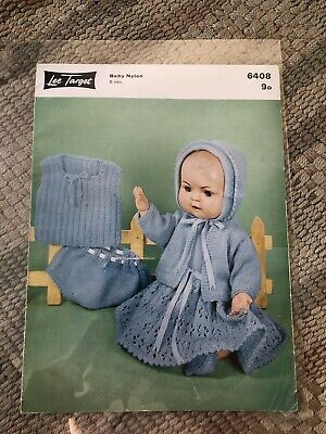 vintage dolls clothes knitting patterns