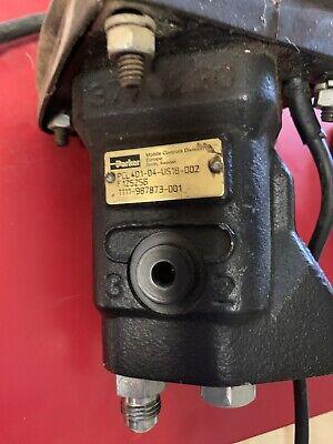 Used Parker Pcl401-04-us18-002 Hydraulic Joystick