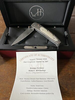WILLIAM HENRY KNIFE B10 DEWINGS EXCLUSIVE #7 of 25