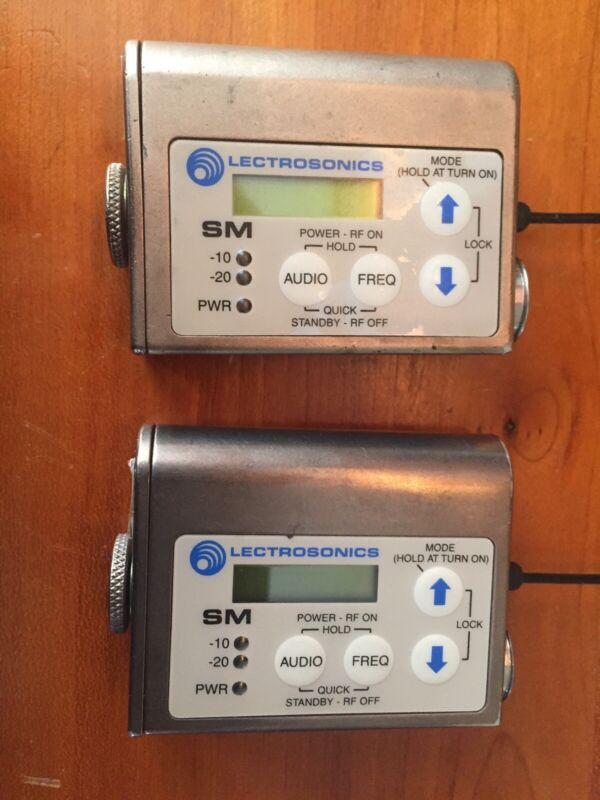 Lectrosonics SM Transmitter - Block 22