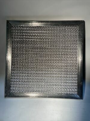 12x12 Commercial Kitchen Exhaust Hood - Aluminum Mesh Filter