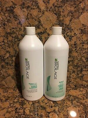 MATRIX BIOLAGE SCALPSYNC Anti dandruff Shampoo &  Conditioner 33.8 oz each Biolage Anti Dandruff Shampoo