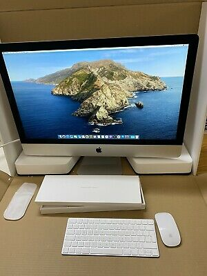 "Apple iMac 2014 27"" 5K Core i7 4GHz Quad-Core 32GB RAM 3TB Fusion Drive."