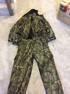 Insulated jacket and pants