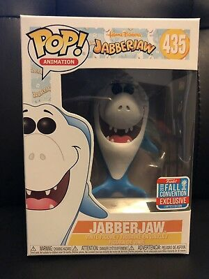 2018 NYCC Funko Pop! Hanna Barbera Jabberjaw #435 Exclusive New In Box In Hand for sale  Shipping to Canada