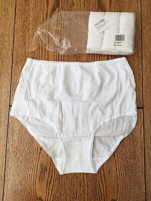 Iris And Lilly Womens Whote Briefs Underwear Pack Of 4
