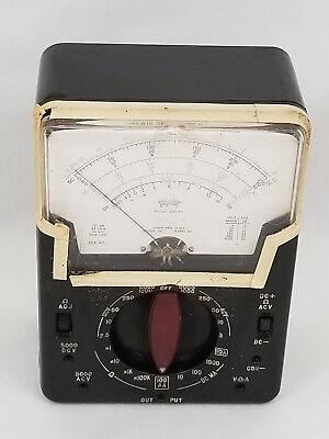 Vintage Triplett Model 630-pl Volt Ohm Meter Analog Multimeter
