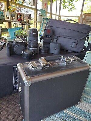 Canon EOS Digital Rebel XTi / EOS 400D 10.1MP Digital SLR Camera - Black (Body …