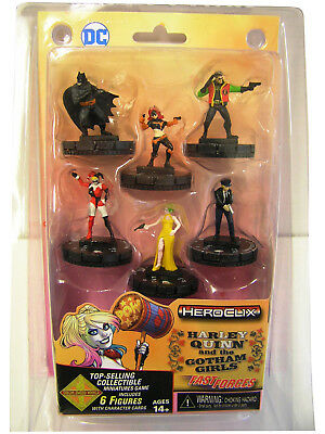Heroclix Harley Quinn and the Gotham Girls Fast Forces Pack