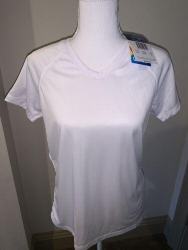 NWT ~ KANU SURF ~ Women's S/S Swim Shirt Rashguard ~ White~