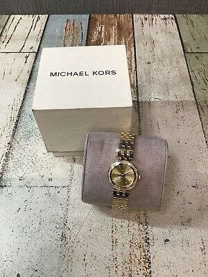 Michael Kors Women's MK3295 'Mini Darci' Gold-Tone Stainless Steel Quartz Watch