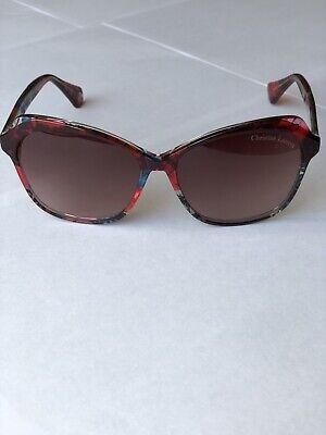 Sonnenbrille Markenbrille Christian Lacroix,Damen,Frauen rot,Trendy,UVP 160€