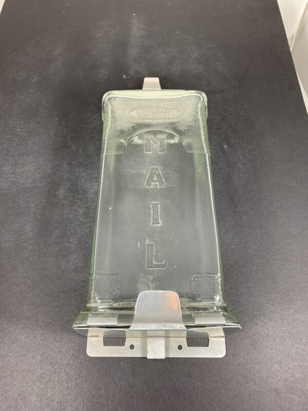 1930s Vintage Visible Glass Mail Box Made by George F Collins Co. Near Mint-Mint