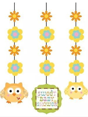 Happi Tree Baby Shower Party Supplies Fancy Hanging Cutouts decorations (Happy Tree Baby Shower Decorations)