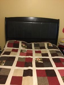 Queen size bed n dressing like new from Ashley furniture