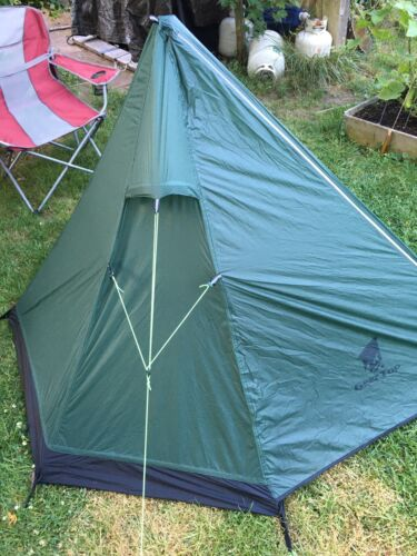 GEERTOP Ultralight 1 Person Backpacking Tent 3 Season Camping Tent without Pole