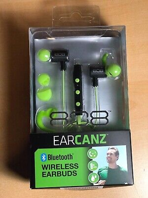 AUDIOVOX 808Wireless BLK Earbuds HPA205GRT