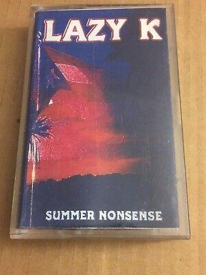 DJ LAZY K Summer Nonsense CLASSIC 90s Hip Hop Rap NYC Mixtape Cassette Tape