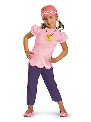 Jake The Pirate Costumes (Disguise Costumes Disney Jake & the Neverland Pirates Izzy Toddler Costume)