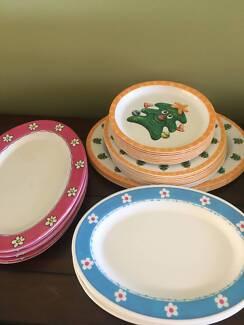 Plastic Plates Assortment