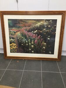 Professionally framed large print ready to hang