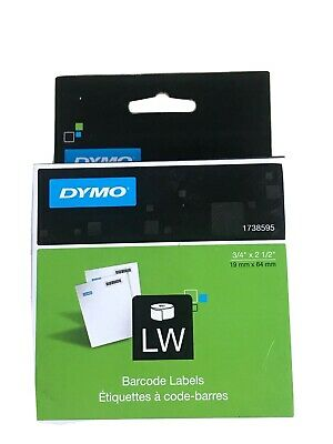 Dymo 1738595 Barcode Labels