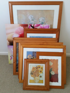 Wanted: Print with frame,glass-full set $20