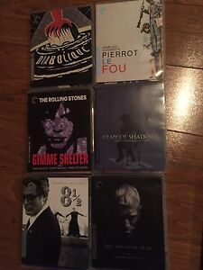 Criterion Collection Lot of 25 Blu ray movies