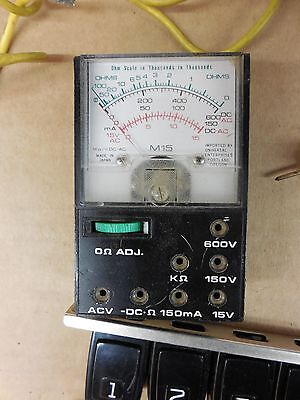 Dayton 5 In 1 Circuit Analyzer Model 4 X 588