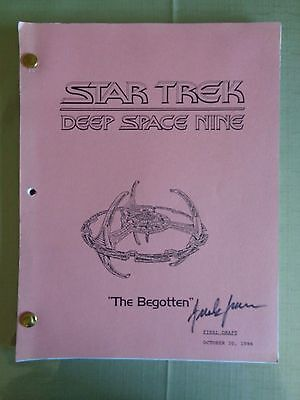Star Trek Deep Space Nine Stage Used Crew Script The Begotten