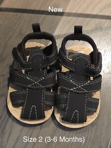 Carter's Baby Sandals (3-6 Months) - NEW