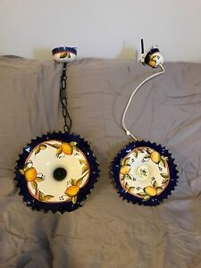 Ceramic hanging lamps