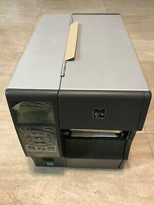 Zebra Zt41042-t010000z Industrial Thermal Transfer Table Top Printer Zt410