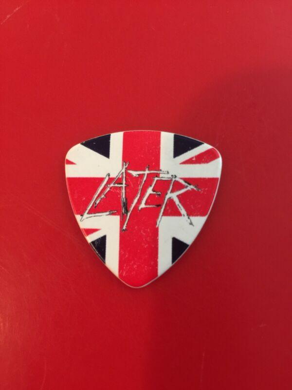 Slayer Tom Araya  Farewell Tour UK Later Pick