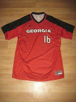 Nike NCAA Georgia Bulldogs College Baseball Jersey/Free -