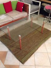 FREEDOM FURNITURE GLASS COFFEE TABLE Chester Hill Bankstown Area Preview