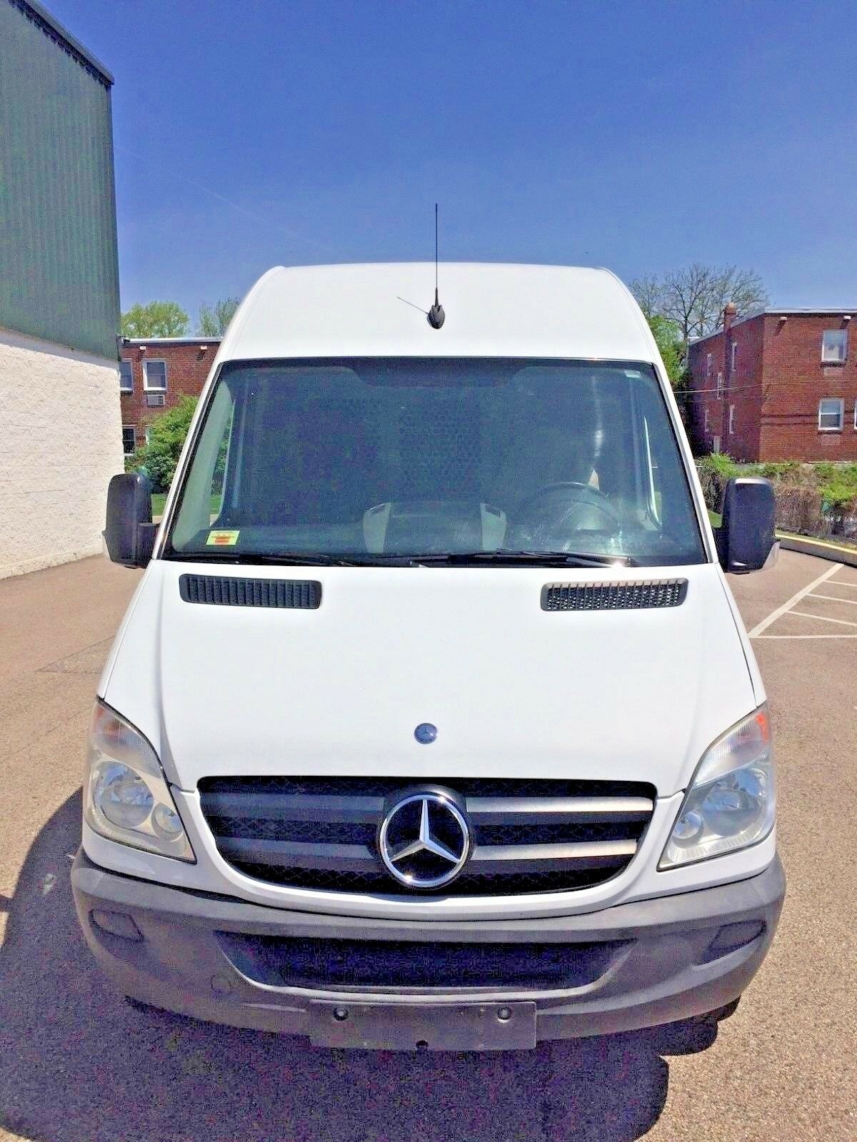 2012 Mercedes-Benz Sprinter  2012 Mercedes-Benz Sprinter 3500 144 WB DRW Cargo Van High Roof