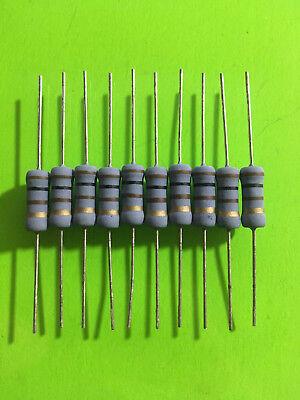 Koa Speer 100 Ohm 2w 2 Watt 5 Tolerance Metal Oxide Film Resistor 10 Pieces