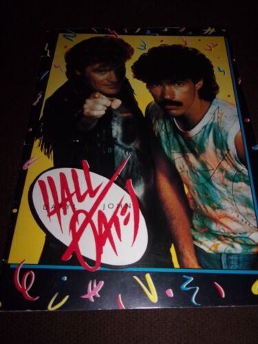 Hall And Oates Big Bam Boom Concert Tour Program! 1985